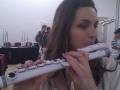 white flute