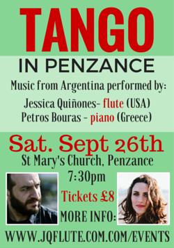 Penzance tango concert