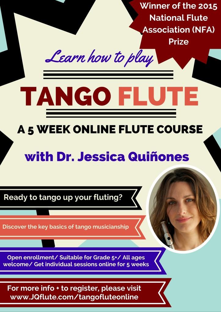 learn tango flute online
