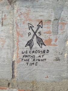 wecrossedpathsattherighttime